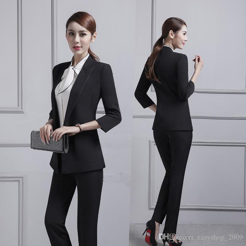 2019 Customized New Women S Suit Women S Business Professional Dress