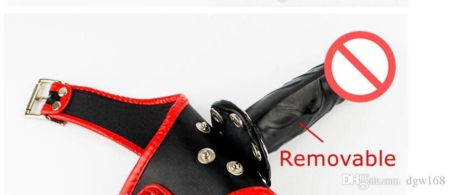 New Black Dildo Calcinhas Briefs com Macio Dildo Dentro do sexo feminino adjustbale Dildos De Borracha Calcinha Calças Cuecas