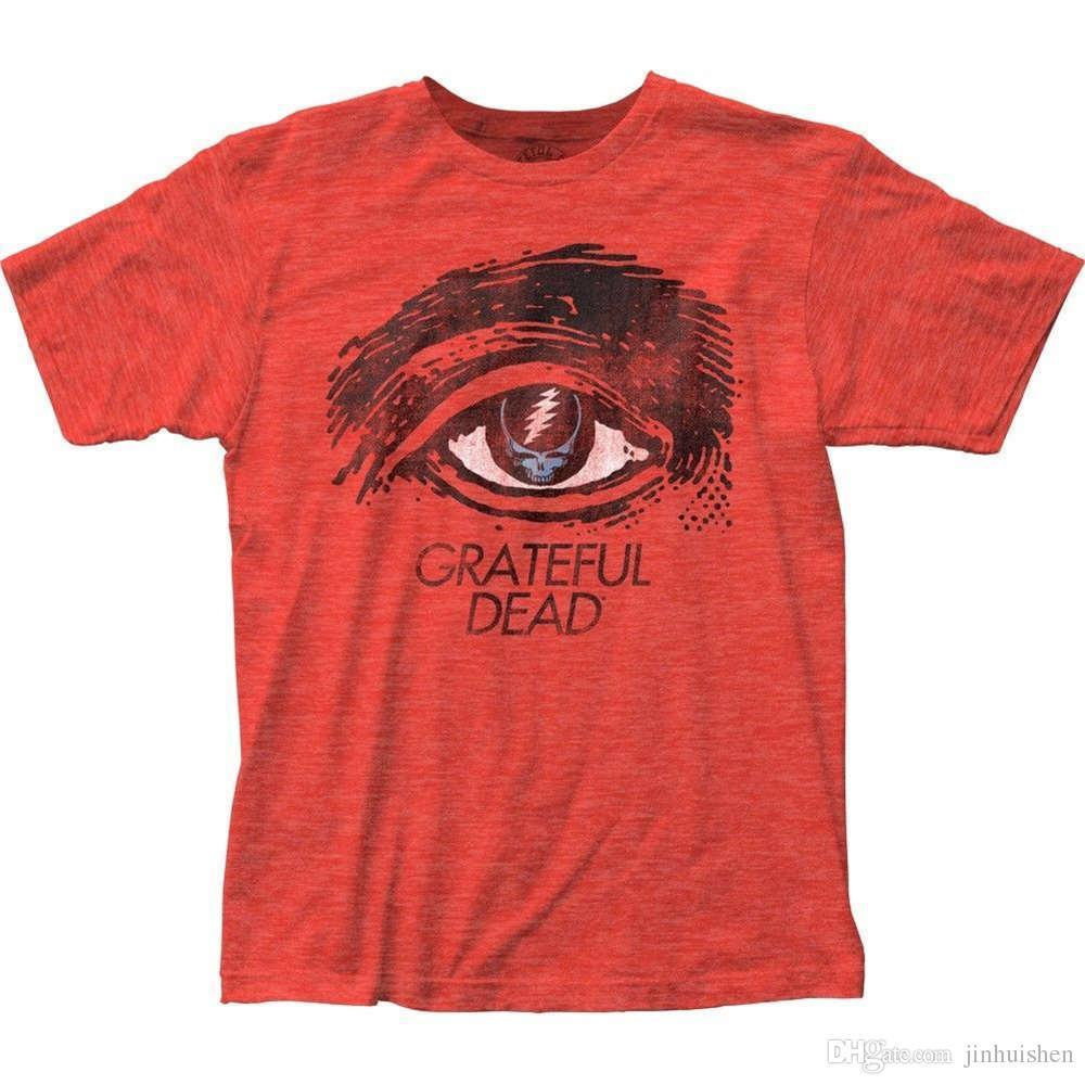 bfcd2dc5d789a7 2018 Crossfit T Shirts Official Authentic Grateful Dead Eyes Adult T Shirt  S M L X 2X Top Men S Shirts Men Clothes Novelty Cool T Shirt Shopping  Awesome Tee ...