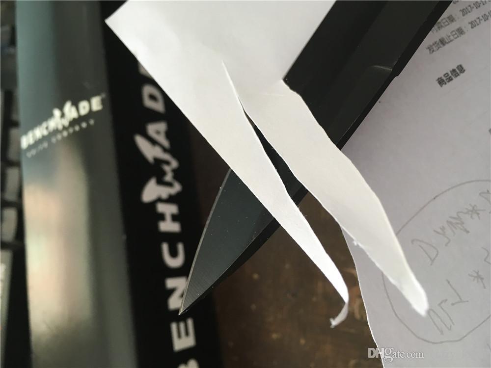 Benchmade! OEM BM140 BM140 tático faca fixa da lâmina da faca da sobrevivência com ABS Handle 154cm sonho não BM42 faca facas