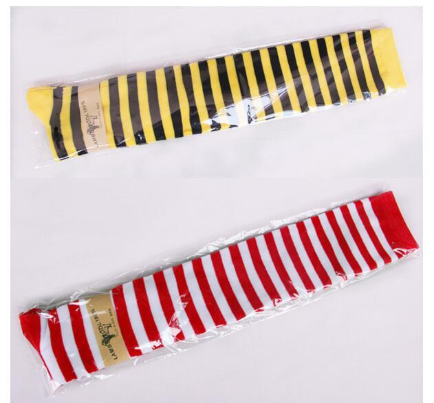 5863eb0a2 2019 Hot New Sexy Women Girl Striped Cotton Thigh High Stocking Over The Knee  Socks Fashion Stockings From Ladylbdcloth