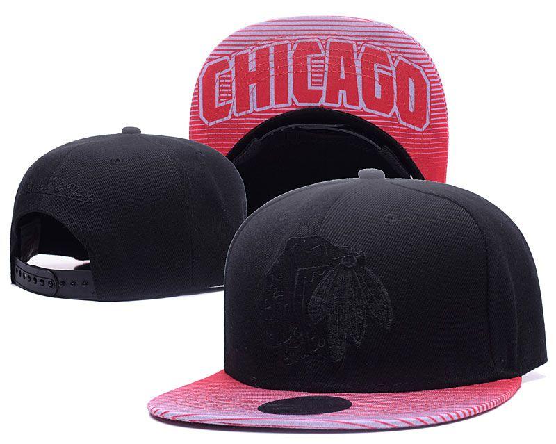 ... ireland mens black top red visor chicago blackhawks snapback hat logo  embroidery sport nhl adjustable ice 1fed7c7b8561
