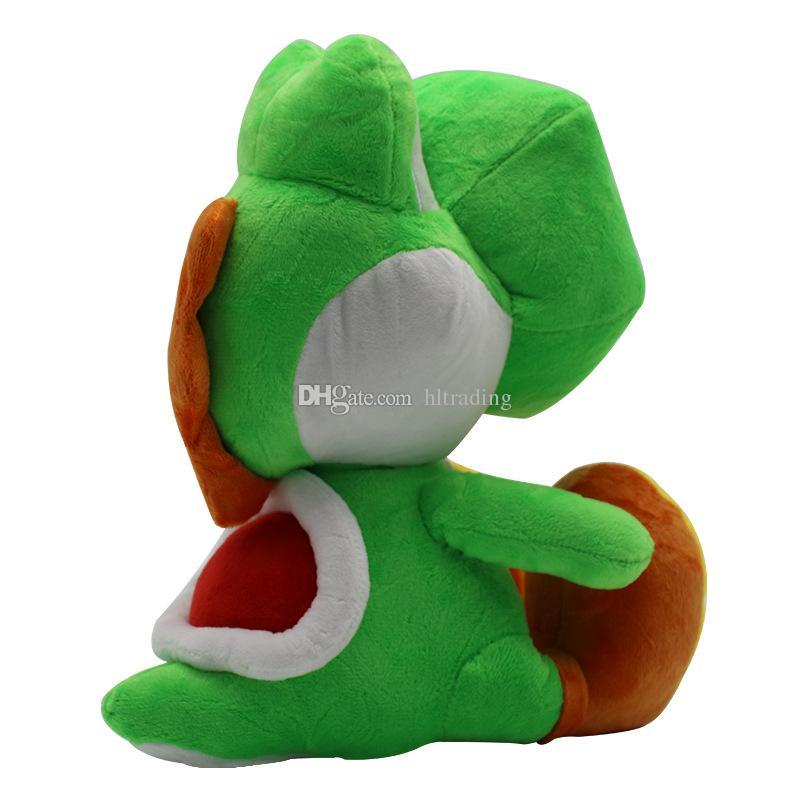Super Mario Bros brinquedos de pelúcia 2018 novo Mario dinossauro Yoshi Bichos de pelúcia 30 cm / 12 polegadas dos desenhos animados Bonecas C4144