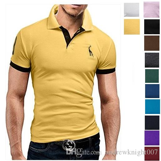 0ce184c08b9c 2019 New Men Polo Shirt Design Cotton Mens Short Sleeve Polo Shirts Sports  Jerseys Golf Tennis From Andrewknight007, $5.08   DHgate.Com