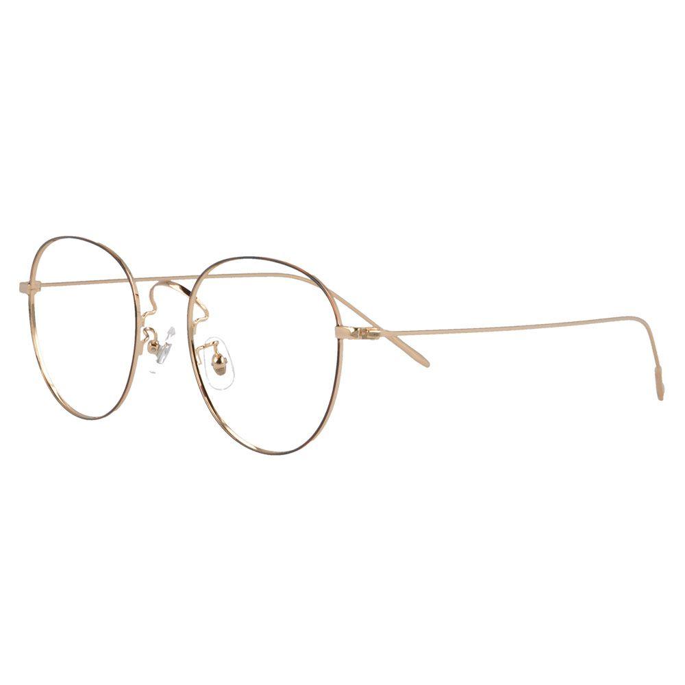 d3d093ba69a MY DOLI 6011 Full Rim Round Retro Metal Myopia Eyewear Eyeglasses ...