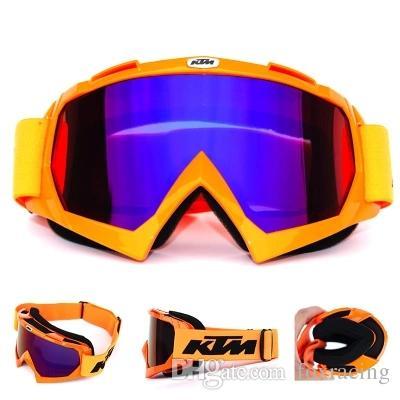 df0c12331a395 Compre KTM Óculos De Motocicleta Motocross Óculos De Proteção MOTO ATV  Gafas Racing Engrenagem De Proteção Máscaras De Bicicleta Para Paintball E  CS Esporte ...