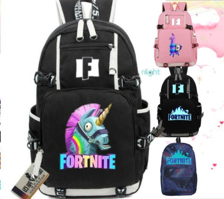 02e3ce67279b4 2018 New Fortnite Battle Royale Backpack Rucksack Teenagers Travel School  Bag Women Shoulder Bag Men Laptop Backpacks For Kids Bookbag From  Creeative