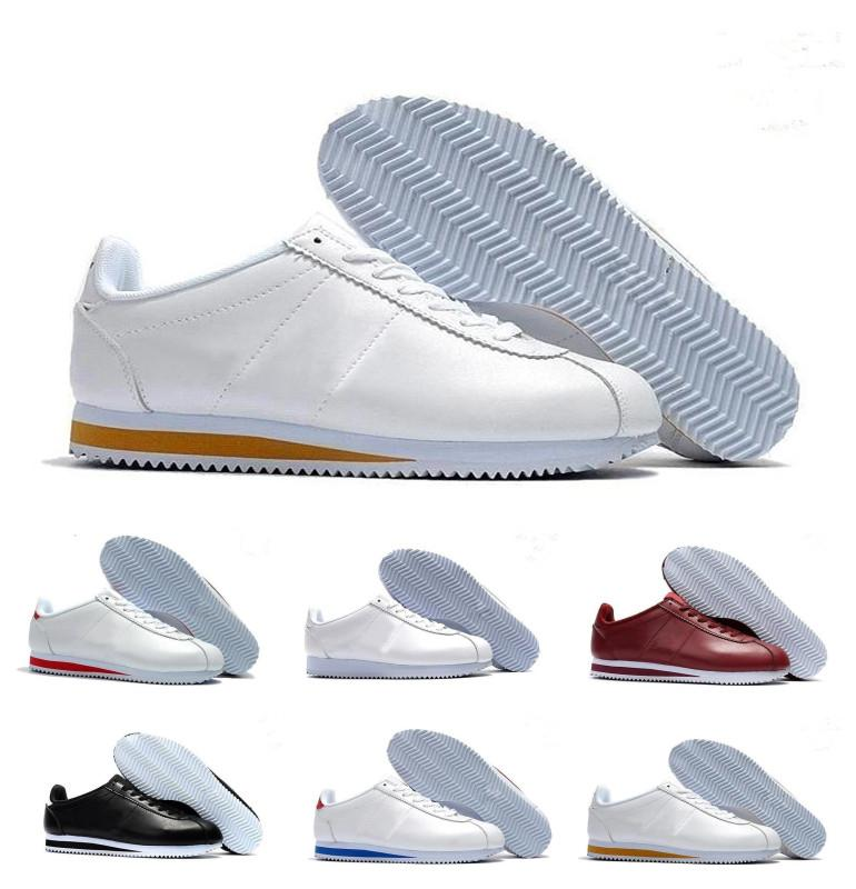 quality design 5d756 51a86 2018 best new cortez shoes men women running shoes sneakers,cheap athletic  leather original cortez ultra moire walking shoes sale 36-44