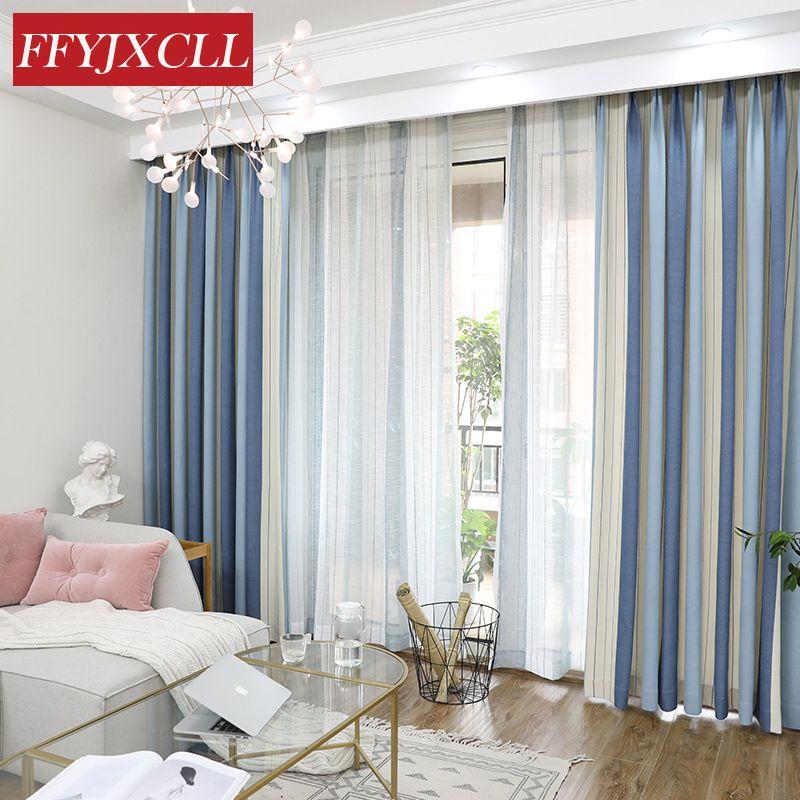 Moderne Terren   Acheter Tissu Mediterraneen Raye Moderne De Coton De Polyester De