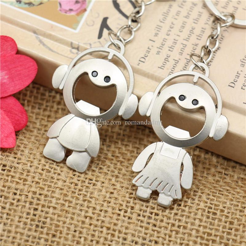 Metal Couple Listen To Music Girl And Boy Keychain Smile Baby Lovers  Keyring Wedding Favors Baby Shower Key Chain + Dhl Kawasaki Keychain  Keychain Camera ...