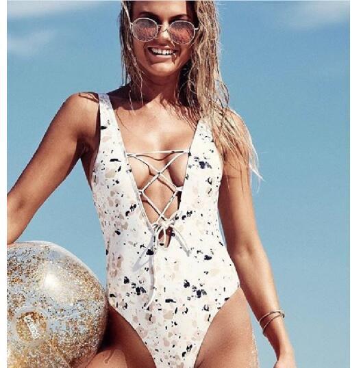 aa746e8e6b New Women s Beach Swimwear 2018 Summer 12 Designs One Piece Ladies ...