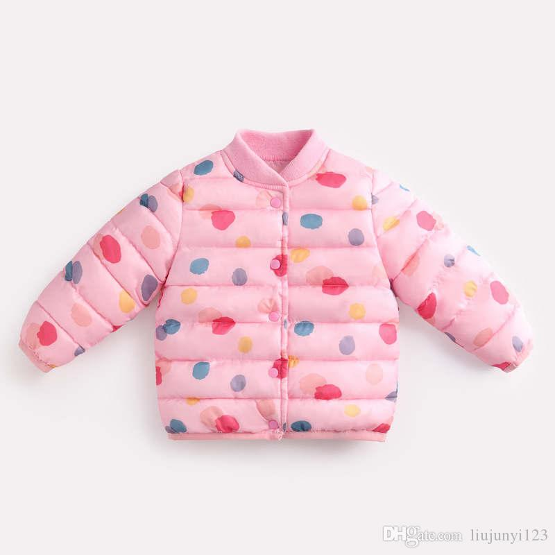 c280c4063 Girls Winter Warm Jackets Children Casual Thick Outerwear For Baby ...
