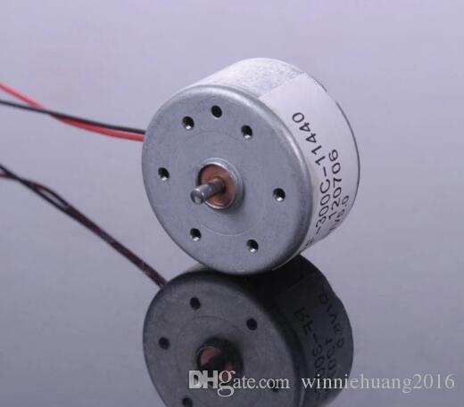 Silver Micro 300 Solar Panel Special Motor DC 3V 4.5V 5V Car CD Player Ultra-quiet motor For Scientific Hobby Toys DIY Accessories
