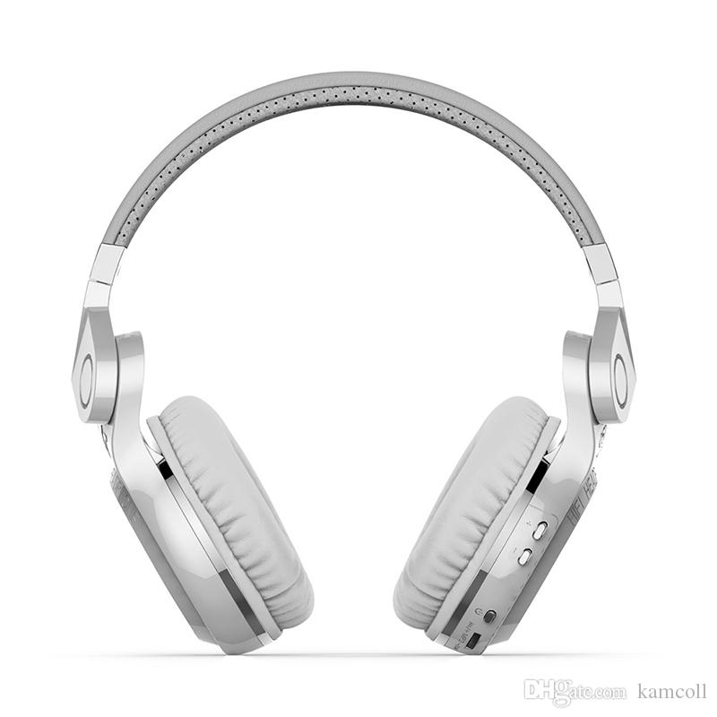 Bluedio T2 Wireless Bluetooth 4.1 Stereo Headphones Built-in Mic Handsfree for Mobile Calls and Music Streaming for Smartphone