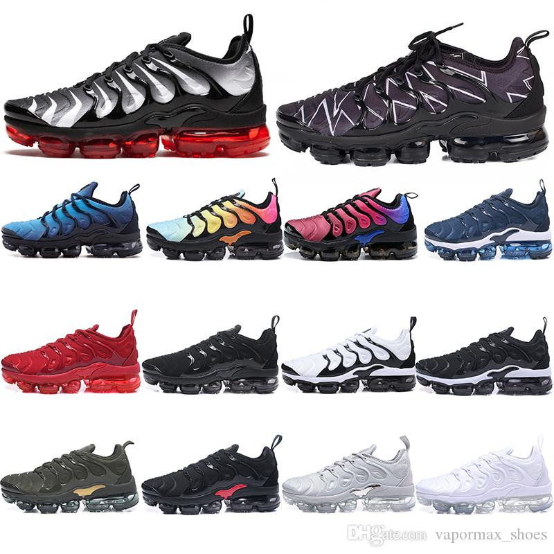 d28fbf27d1c29 Acheter 2019 TN Plus Chaussures Jeu Royal Orange USA Designer Chaussures De  Sport Chaussures De Course Pour Hommes Baskets Femmes Marque De Luxe  Sneakers ...