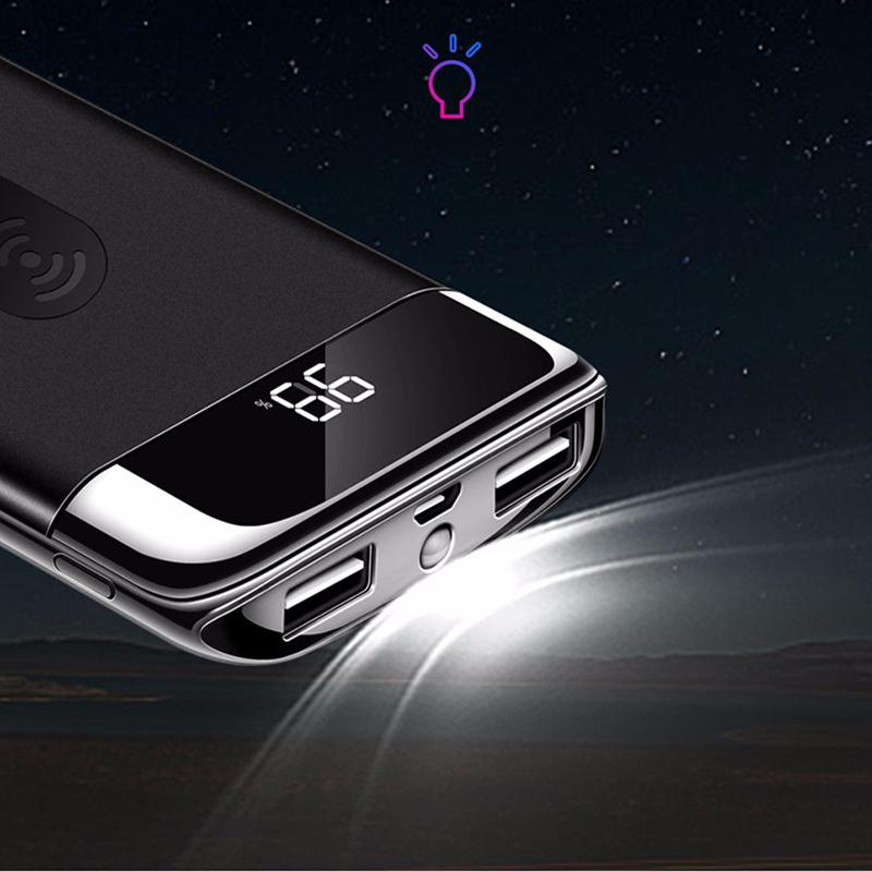 Wireless Charger Power Bank JOYROOM 10000 mAh Portable Powerbanks Charger External Battery Fast Charging Powerbank for iphone samsung