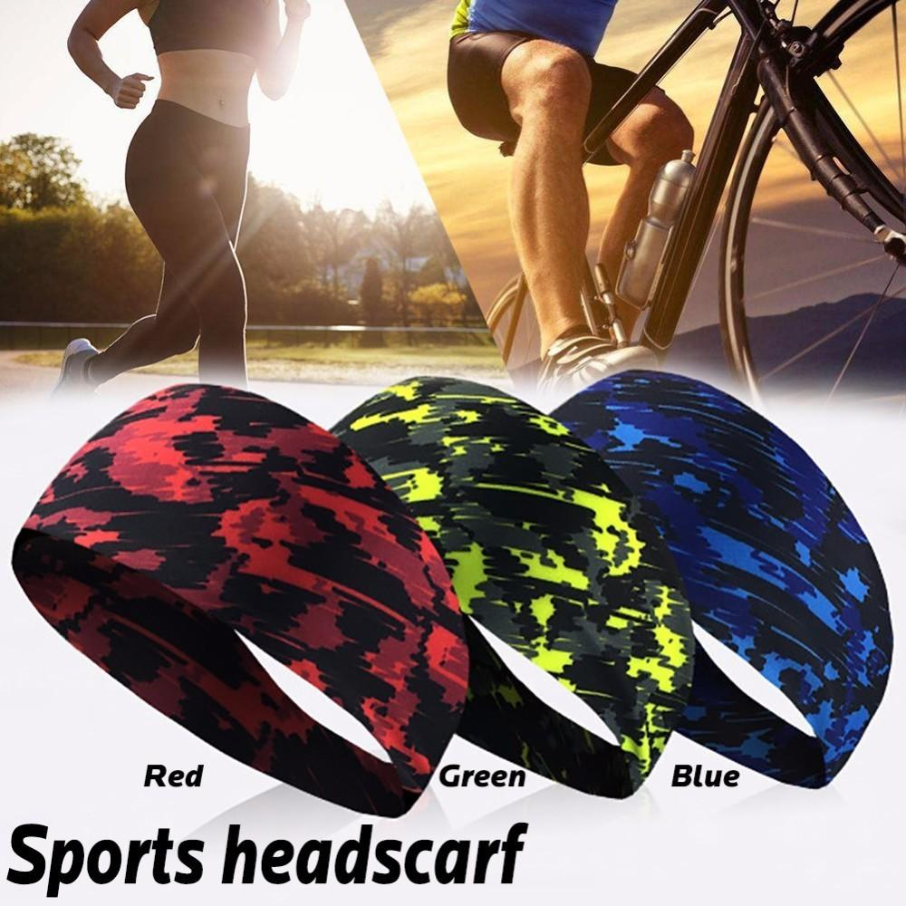5f115a9634a9 2019 Sport Sweat Headband Sweatband For Men Women Yoga Hair Bands Running  Head Anti Sweat Bands Sports Safety Drop Shipping From Pothos