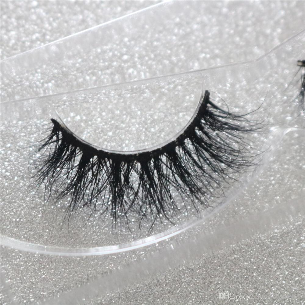 3d Mink Hair False Eyelashes Natural Thick Long Fluffy Wispy