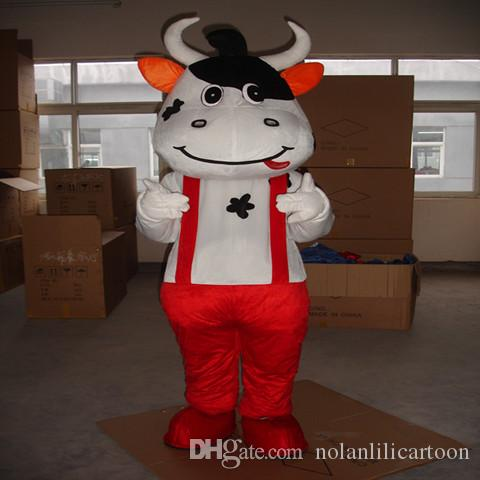 Haute qualité EVA Matériel Casque Trois style Mengniu vache Mascotte Costumes Film accessoires partie de bande dessinée Vêtements WS501