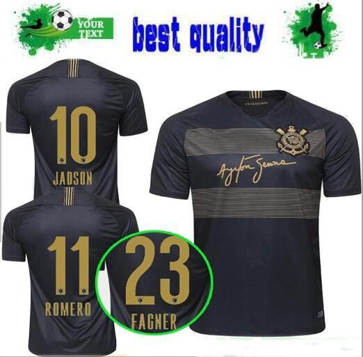 281c72e5d7 2018 2019 Brasil Corinthian Paulista Tercer Camiseta De Fútbol 18 19  CLAYTON JADSON ROMERO PABLO M.GABRIEL Tercera Camiseta De Camisetas De  Fútbol De ...