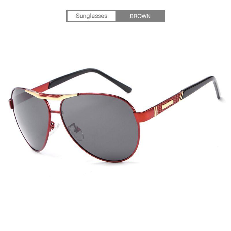 659a61e79c HDCRAFTER Designer Polarized Sunglasses Classic Outdoor Riding Men  Sunglasses Women Driving Glasses UV400 Metal Frame Polarized Lenses E018  Sunglasses ...