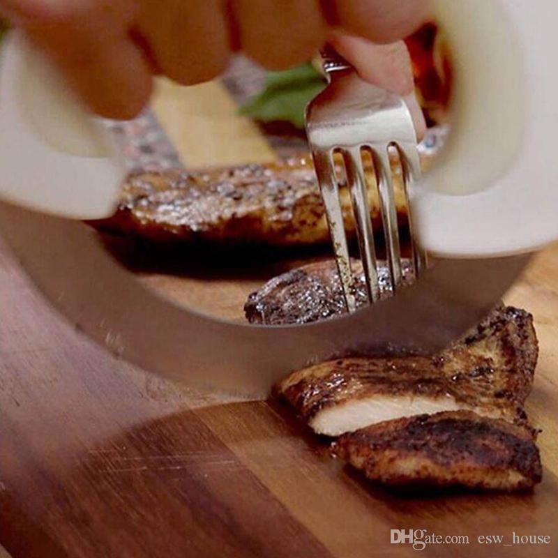 Rotella di alta qualità rotella attrezzo della cucina di rotolamento con la lama dell'acciaio inossidabile Torta di carne di verdure Taglierina della pizza Cucina creativa Forniture