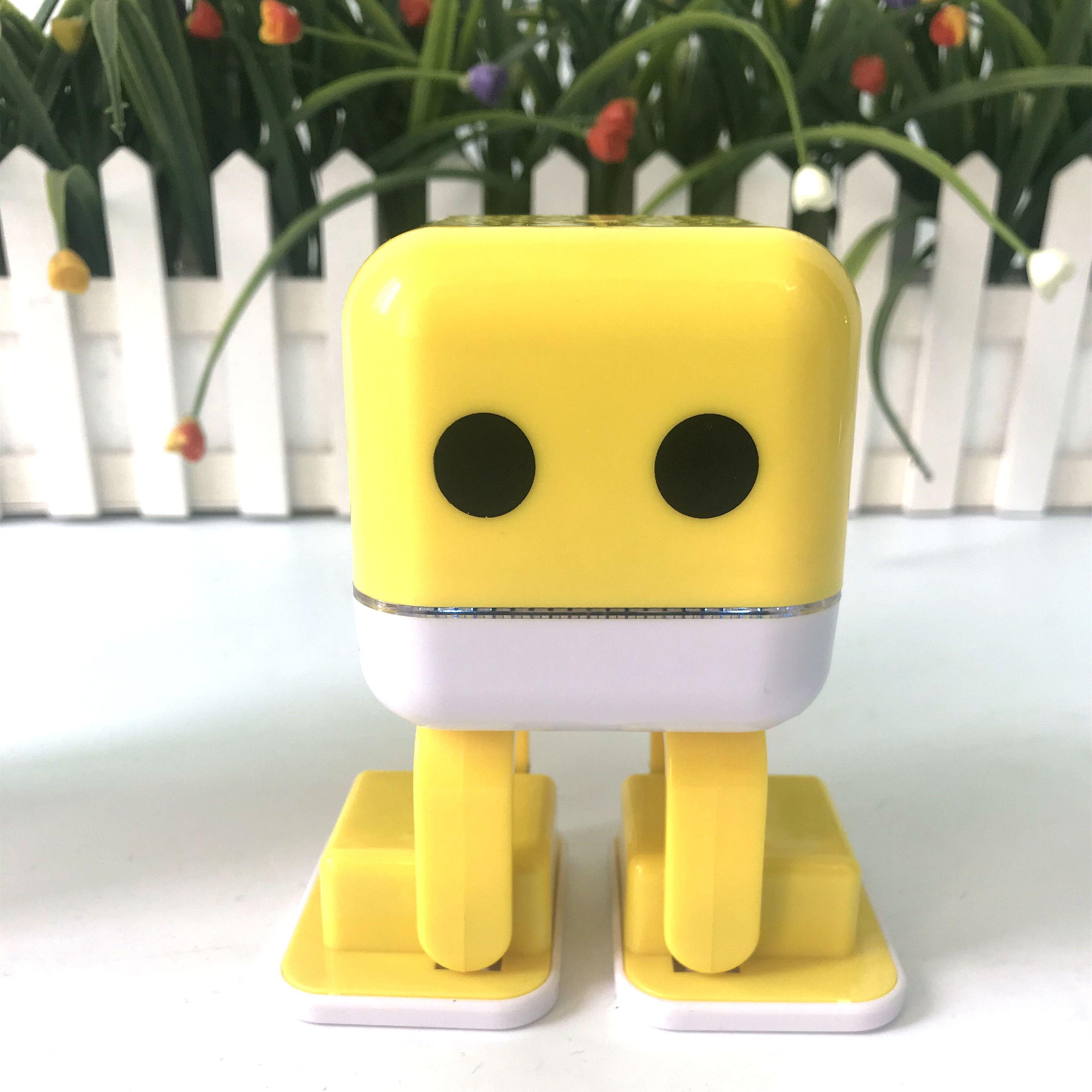 Cubee Robot Toys Kids Gifts Dancing Wireless Speakers Wireless