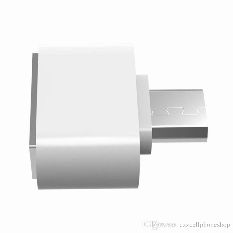 Micro USB To USB2.0 Expansion OTG Adapter Flash Drive Usb OTG Adapter Converter To Micro Usb Cable Adapter