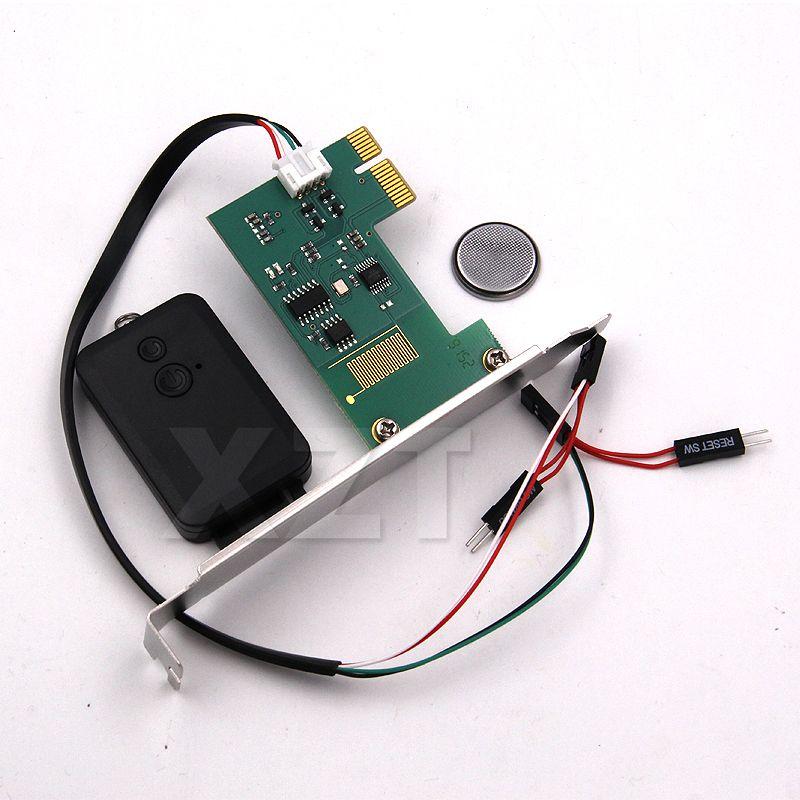 High Quality Mini PCI-e Desktop PC Remote Controller 20m Wireless Restart  Switch Turn On/OFF For Desktop Computer