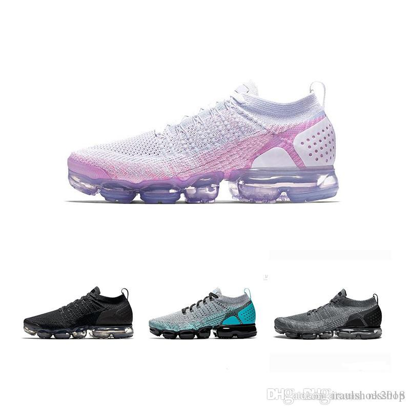 huge selection of d3a17 2fd18 Großhandel Nike Air Max 2018 Weiß Silber Schwarz Schuhe Männer Frauen Für  Lauf Männer Schuh Sport Shock Corss Wandern Jogging Walking Outdoor Schuhe  36 45 ...
