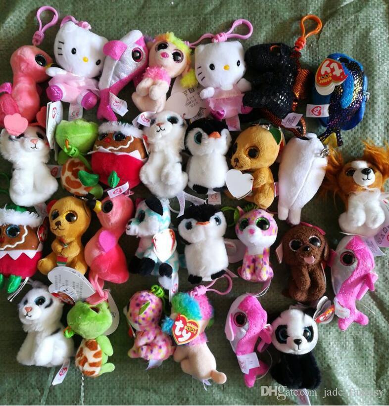 bd08dcc2031 2019 Ty Beanies Keychains Ty Beanie Plush Toys Unicorn Plush Toys TY Plush  Pendants Stuffed Animals Dolls Boos Marcel TWIGGY Owl Z117 100 From  Jade fantasy