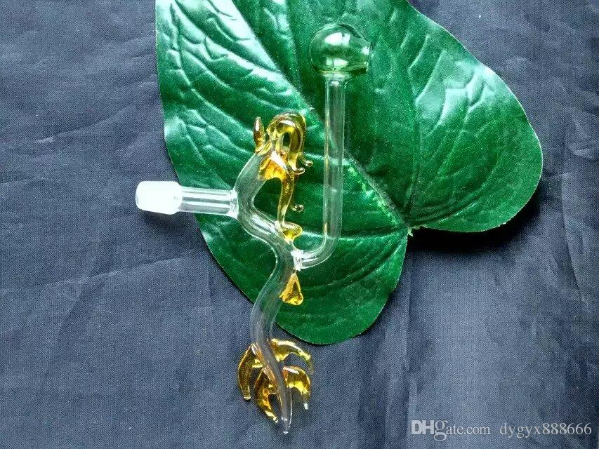 Dragon pot ,Wholesale Glass bongs Oil Water Pipes Glass Pipe Oil Rigs Smoking ,