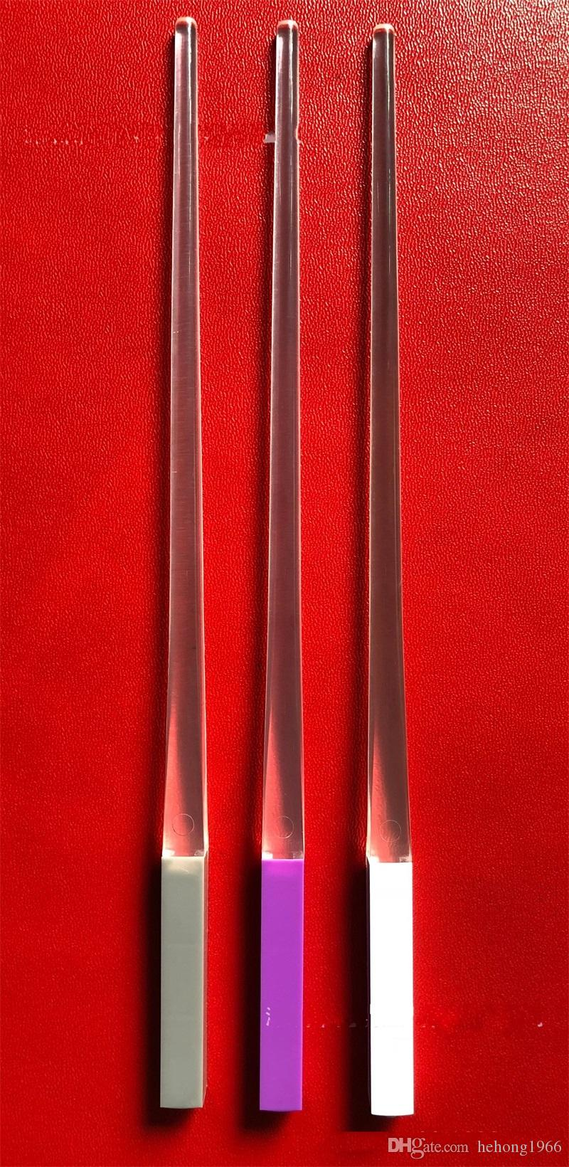 Luminescence bacchette LED regalo lavabile plastica commestibile della luce del flash bastone giocattolo concerto vocale i bambini creativo 11 8yx v