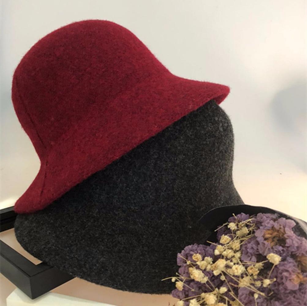 c0e473e10fe 2018 New Women Autumn Winter Japanese Korean Style Dome Wool ...