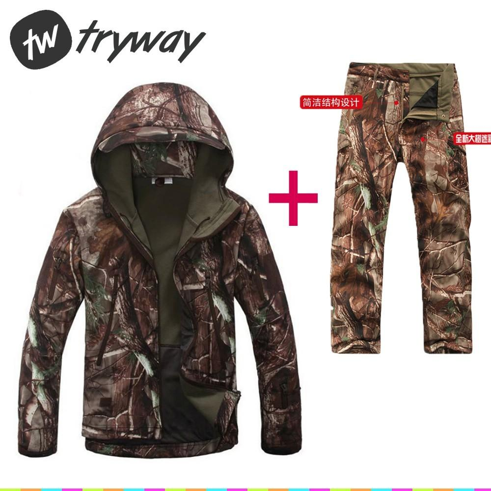 2018 Outdoor Tad Jacket Camping Waterproof Pants Shark Skin Jaket Army Gear Tactical Import V 50 Men Windbreaker Softshell Coat Hoody Esdy From Panthers