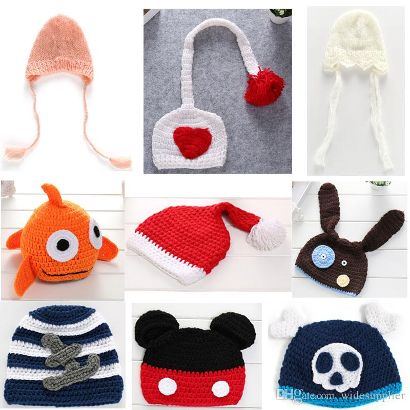 8d172ea055f47 2019 30 Styles Hot Handmade Beanies Children S Cartoon Owl Hat Double  Braided Ear Protection Hat Children S Hat Kid Knitted Cap From  Widesupplier