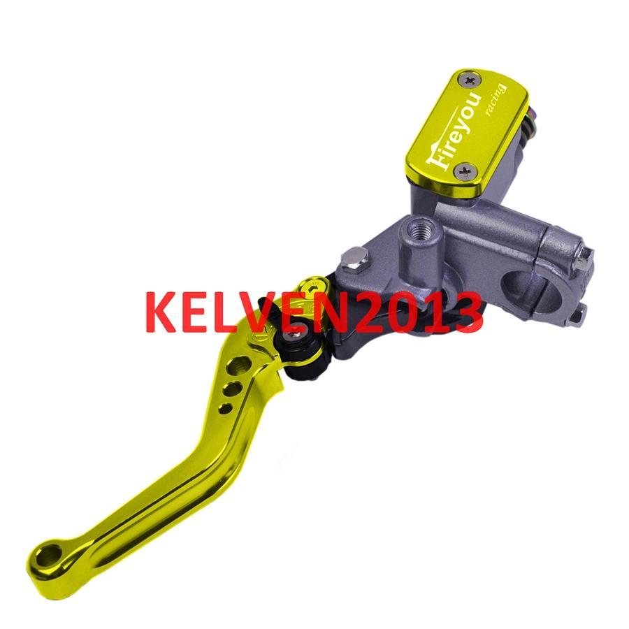 "CNC Motorcycle brake pump hydraulic clutch lever 7/8"" 22mm disc clutch lever for Aprilia KTM Suzuki Kawasaki Honda master cylinder universal"