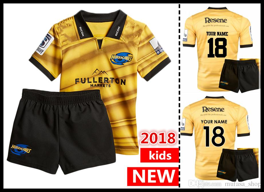 34f2b23c2 2018 2019 Hurricanes Home Rugby Jerseys .