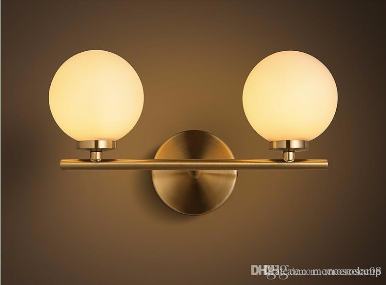 Acquista lampade da parete moderne led bubble applique da parete a