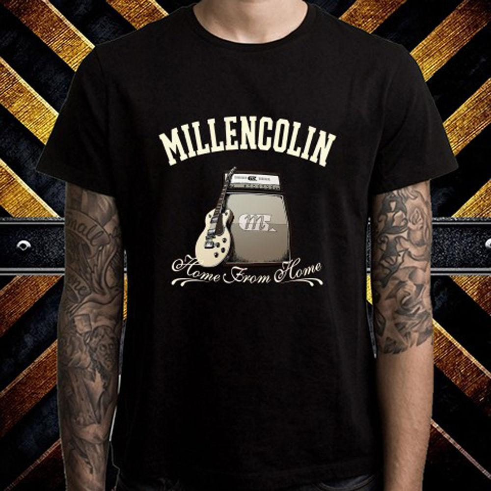 096369a739e New Millencolin Home From Home Punk Rock Band Men S Black T Shirt Size S To  3XL Print Tees Buy Shirt From Amesion63