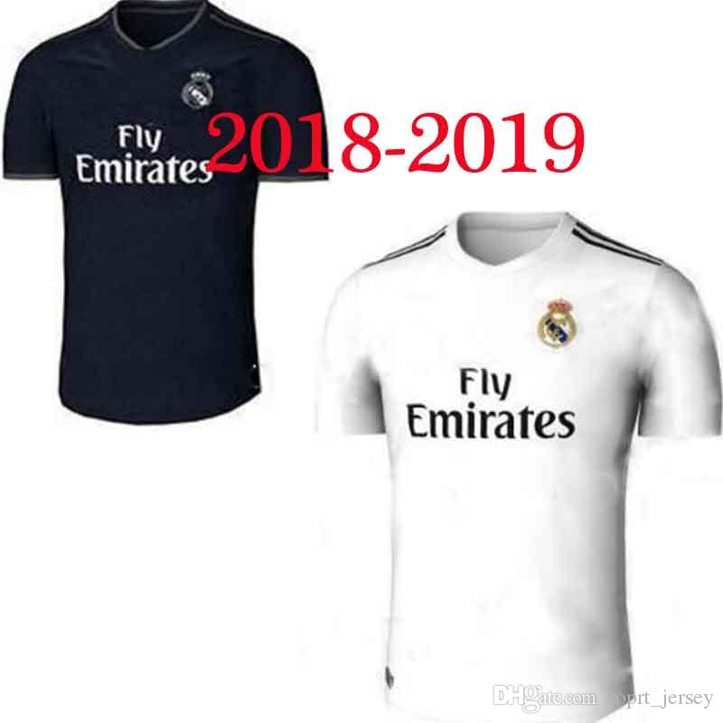 Soccer Jerseys17 18 2019 Real Madrid Home Away Adult Kits 18 19 ... aa0a8a194