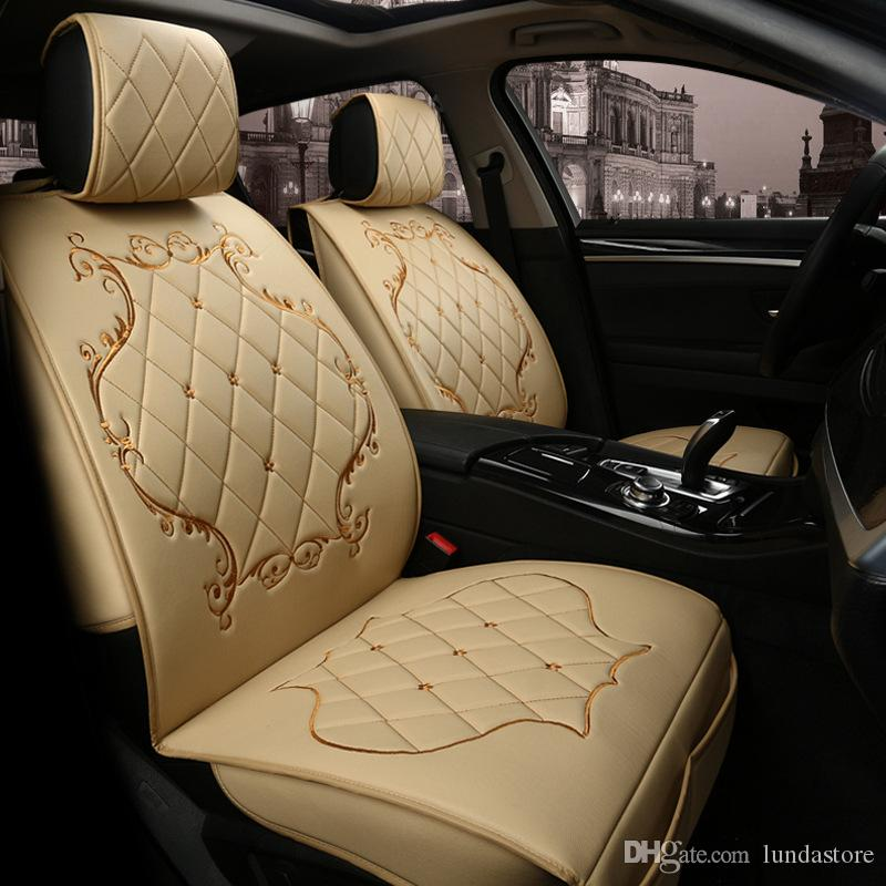 Luxury Pu Leather Car Seat Covers For Citroen All Models C4 C5 C2 C3