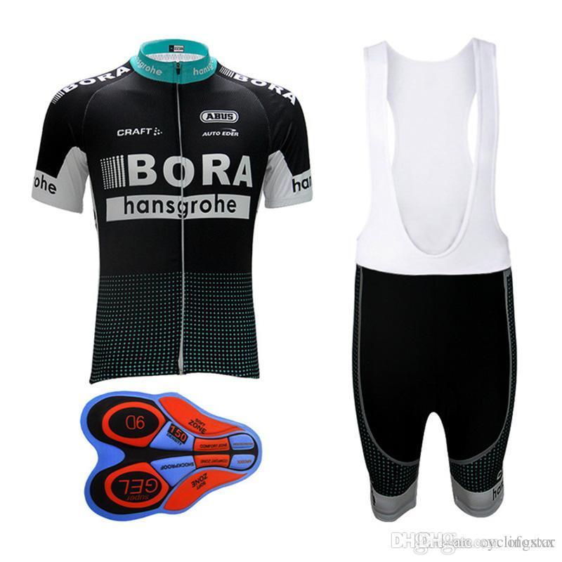 2017 Bora Cycling Jersey Shorts Set Man Ropa Ciclismo Hombre Sport ... e7a7b7ed8