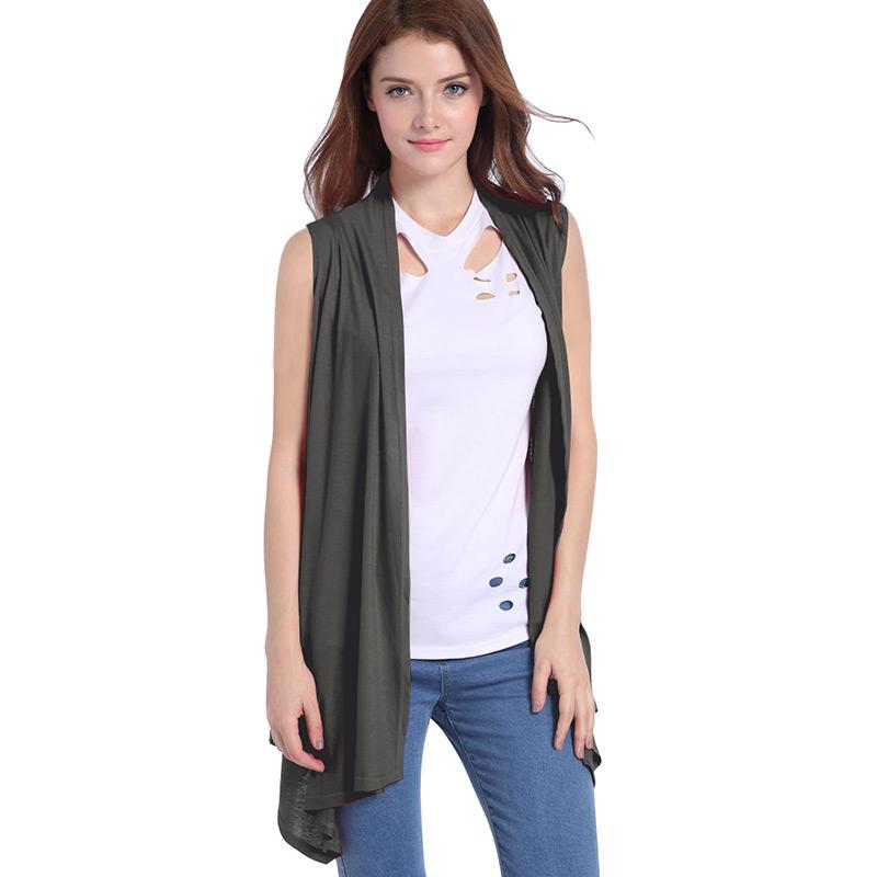 8a65ec4ac2b6c 2019 Hot Sale Female Cardigan Plus Size Long Tops For Pregnant Women  Clothes Sleeveless Summer Maternity Outerwear Fashion Clothing From  Heathera
