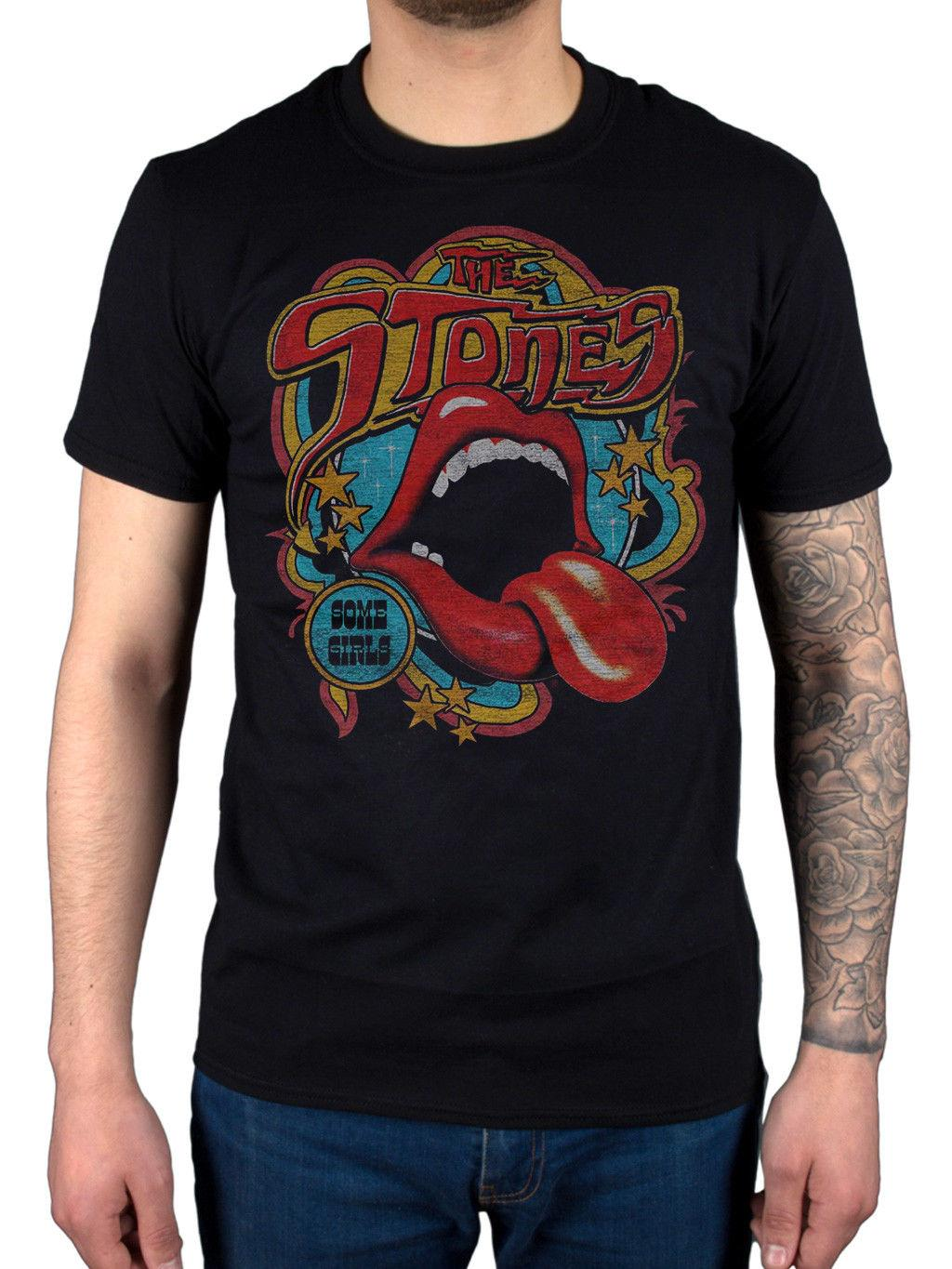 9530b72d2 Official The Rolling Stones Retro 70s Vibe T Shirt Let It Bleed Sticky  Fingers Hip Hop Men Tshirt Rock Unisex T Shirt Fashion Tops Cool Really  Funny T ...