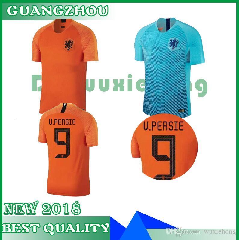 fea6e007e 2019 2018 19 Nederland Soccer Jersey Netherlands Home Away Orange MEMPHIS  JERSEY ROBBEN 18 19 Thai Quality V.Persie Dutch Football Shirts From  Wuxiehong, ...