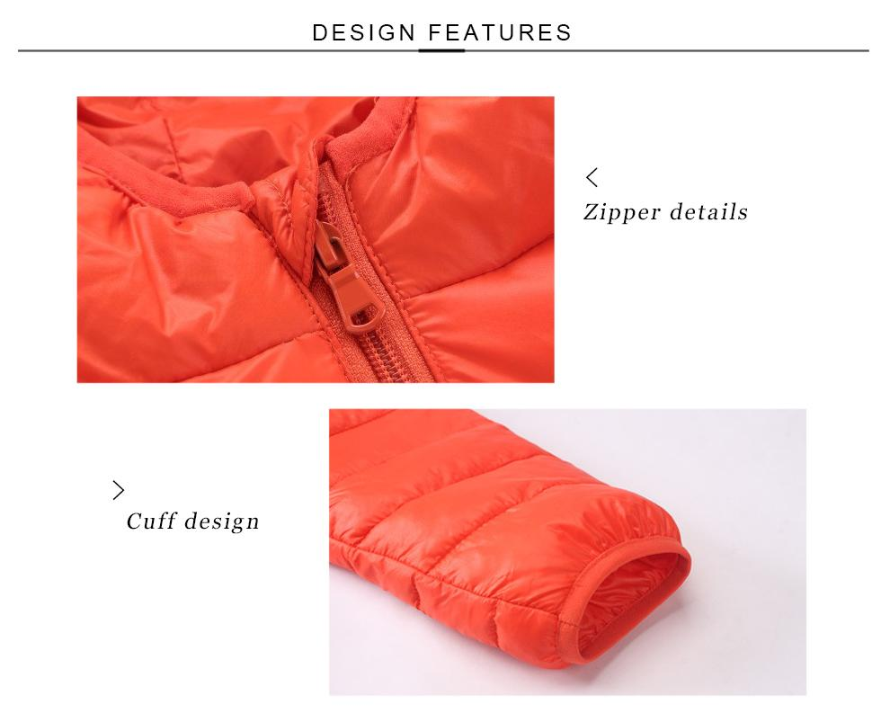 Yeni Marka 2017 Moda çocuk Aşağı Ceketler Palto Katı Pamuk-yastıklı Kızlar Sıcak Kış Ceket Ceket Çocuk Kabanlar 4-13Y