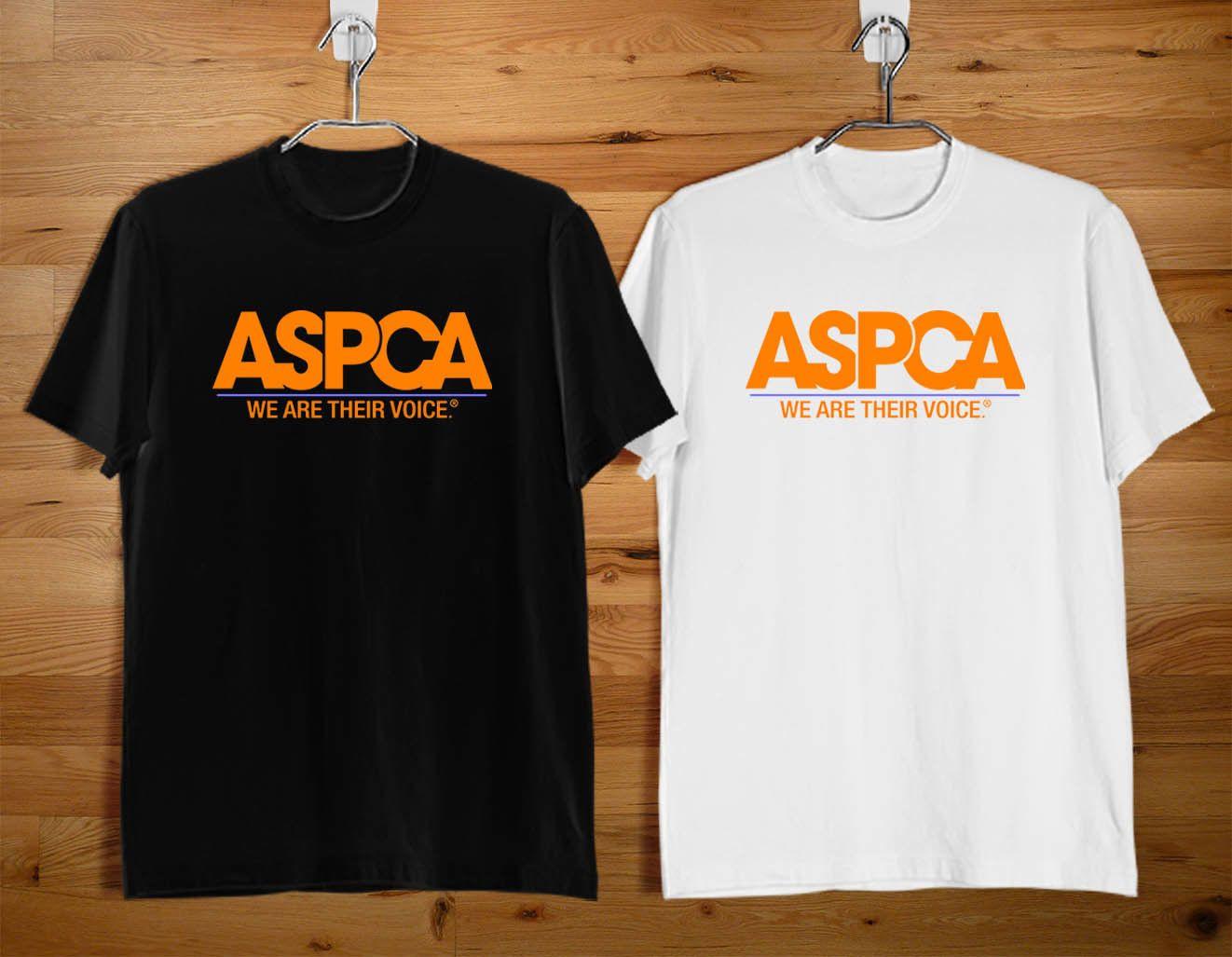 f1e764af05f9dd ASPCA New Design Black And White T Shirt Hilarious T Shirts Designer T Shirt  From Lanshiren4