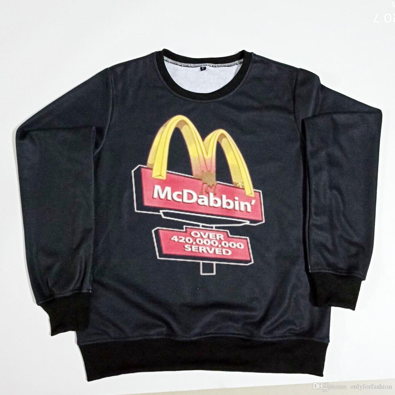 06ca92511 2019 Real USA Size McDabbin 3D Sublimation Printing Sweatshirt Crewneck  Plus Size 3XL 4XL 5XL 6XL From Onlyforfashion, $24.22 | DHgate.Com