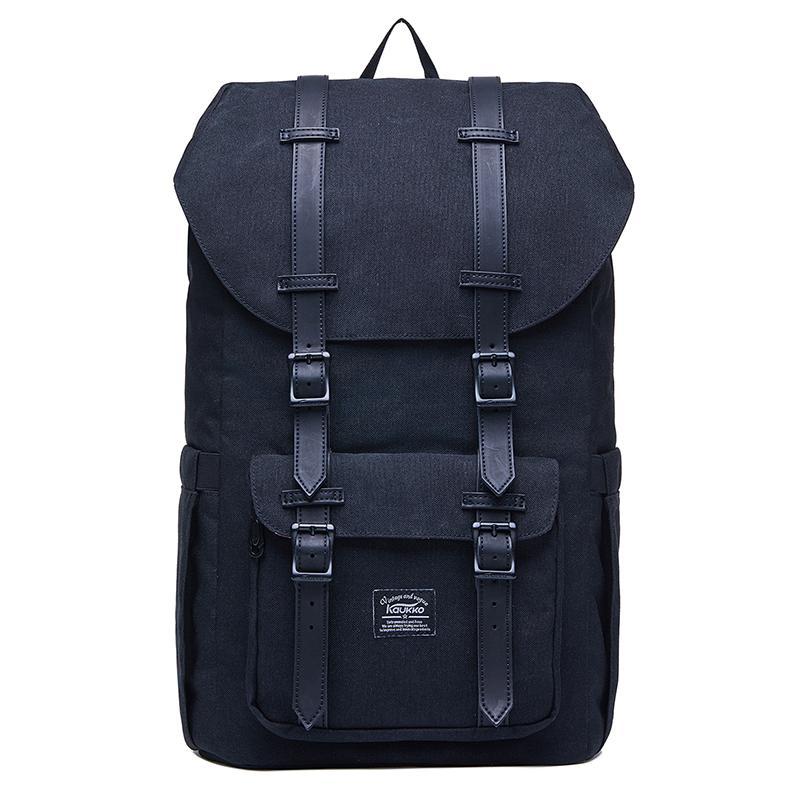 89b54ffcd8fd3 Kaukko Women s Vintage Students Laptop Backpack for 15.6